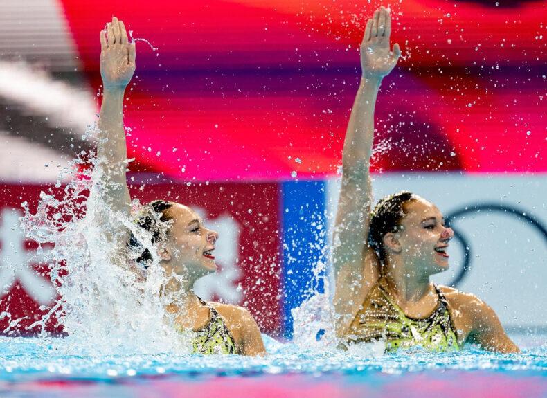 Charlotte et Laura Tremble (IPSA promo 2025): deux étoiles de la natation synchronisée en route pour les JPO !