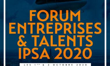Entreprises, découvrez vos futurs talents à l'IPSA les 1er et 2 octobre 2020