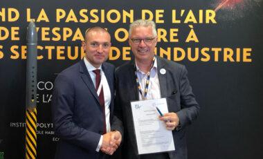L'IPSA a signé de nombreux partenariats lors de la 53e édition du Salon International du Bourget